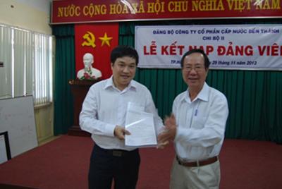 Chi bộ II kết nạp Đảng viên mới 2013
