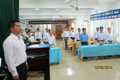 Lễ kết nạp Đảng viên Chi bộ III
