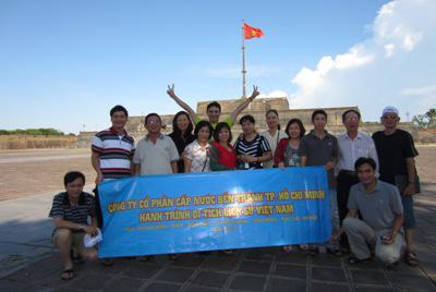 Hành trình di tích lịch sử Việt Nam 2014
