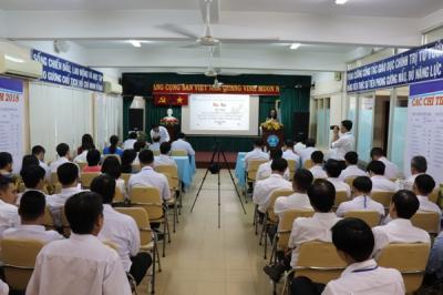 Hội nghị sơ kết biểu dương tập thể, cá nhân thực hiện tốt việc học tập và làm theo tư tưởng, đạo đức, phong cách Hồ Chí Minh năm 2018.